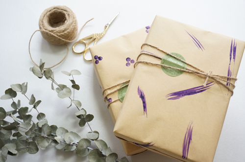 DIY 手作質感禮物包裝紙 好貨概念實驗室 Haohuo Lab
