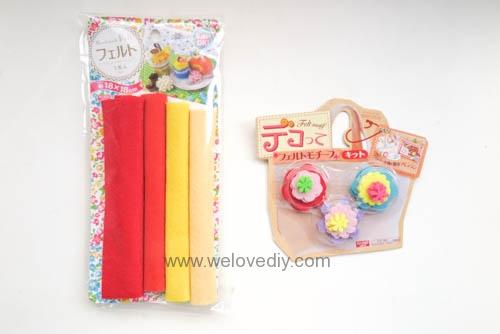 DIY 春節親子手作不織布紅包袋 DAISO 大創材料 (1)