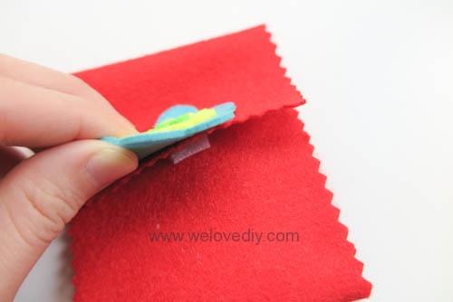 DIY 春節親子手作不織布紅包袋 DAISO 大創材料 (10)