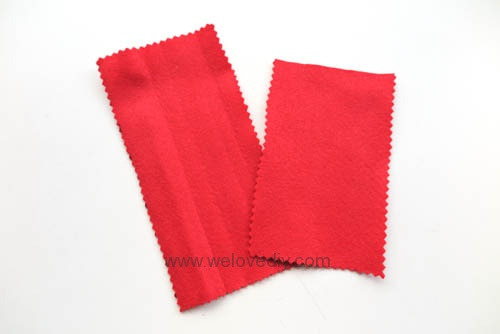 DIY 春節親子手作不織布紅包袋 DAISO 大創材料 (3)