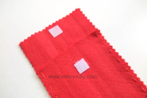 DIY 春節親子手作不織布紅包袋 DAISO 大創材料 (7)
