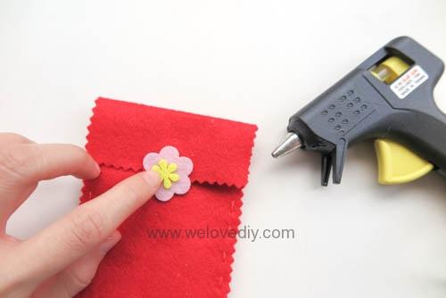 DIY 春節親子手作不織布紅包袋 DAISO 大創材料 (8)