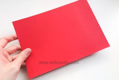 DIY 春節農曆新年春字 3D 立體手工卡片 (1)