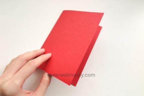 DIY 春節農曆新年春字 3D 立體手工卡片 (2)