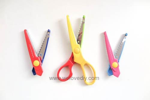 DAISO 大創多款手作工具推薦 花邊剪刀 (2)