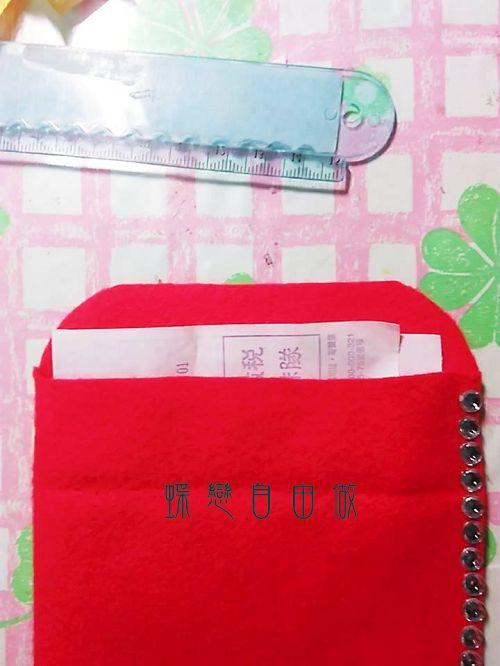 DIY 手作紅包袋步驟2