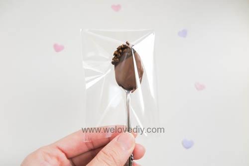 DIY Hot Chocolate Spoon 婚禮小物 情人節 熱可可咖啡巧克力湯匙 (24)