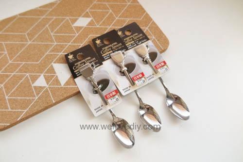 DIY Hot Chocolate Spoon 婚禮小物 情人節 熱可可咖啡巧克力湯匙 (3)