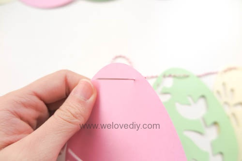 DIY 復活節彩蛋紙做吊飾 iCRAFT 手作拼貼切割機 (10)