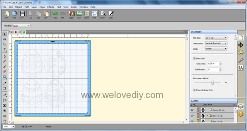 DIY 復活節彩蛋紙做吊飾 iCRAFT 手作拼貼切割機 (3)