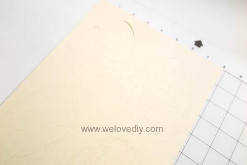 DIY 復活節彩蛋紙做吊飾 iCRAFT 手作拼貼切割機 (4)