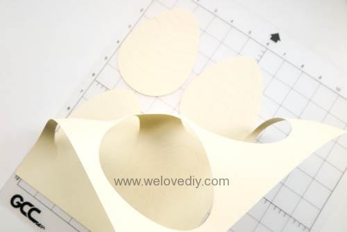 DIY 復活節彩蛋紙做吊飾 iCRAFT 手作拼貼切割機 (5)