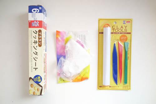DIY 復活節紙黏土親子手作兔子小物收納置物盤勞作 (2)