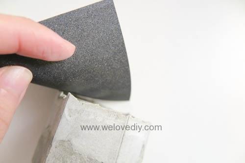 DIY 手作水泥容器燭台盆栽工業風家居擺飾 (12)