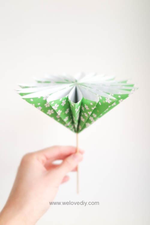 DIY 花朵摺紙教學 (1)