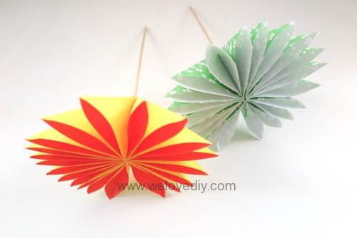 DIY 花朵摺紙教學 (3)