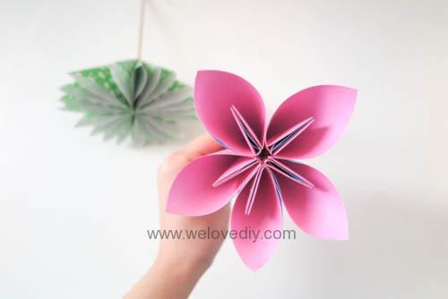 DIY 花朵摺紙教學 (4)