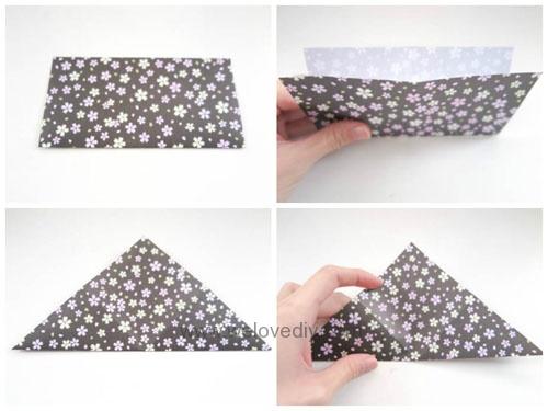 DIY 花朵摺紙教學 (5)