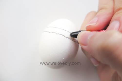 DIY Minions Easter Eggs 復活節小小兵蠟筆染色彩蛋 (2)