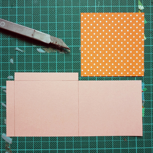 DIY 母親 抽拉式信封愛心卡片 CHUAN HANDMADE (4)