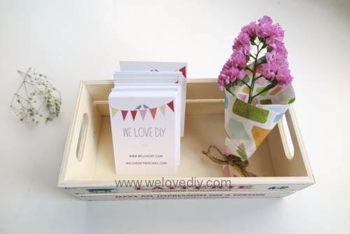 MIDORI Origami 玩色紙婚禮小物手作迷你捧花 (4)