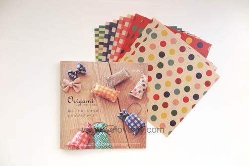 MIDORI Origami 玩色紙 教學書 (3)