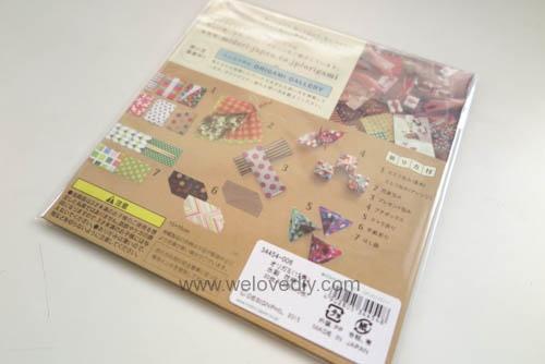 MIDORI Petit Gift Market PGM Origami 玩色紙 (1)
