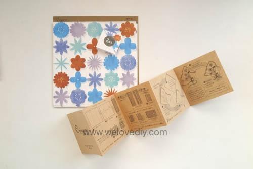 MIDORI Petit Gift Market PGM Origami 玩色紙 (2)