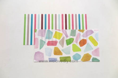 MIDORI Petit Gift Market PGM Origami 玩色紙 (3)