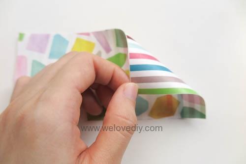 MIDORI Petit Gift Market PGM Origami 玩色紙 (5)