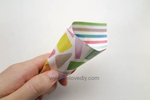 MIDORI Petit Gift Market PGM Origami 玩色紙 (6)