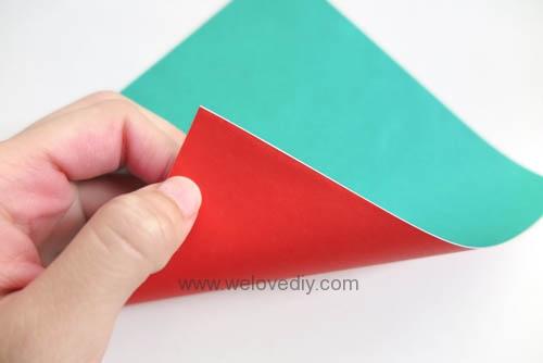 DIY 夏天水果西瓜簡易摺紙親子手作教學 (3)