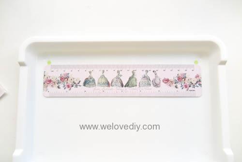 DIY 手作大創 DAISO 修補貼紙點點裝飾置物盤 (3)