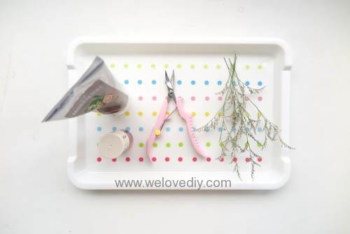 DIY 手作大創 DAISO 修補貼紙點點裝飾置物盤 (8)