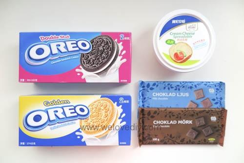 DIY OREO Truffles 情人節甜點三個材料做奧利奧餅乾松露巧克力 (1)