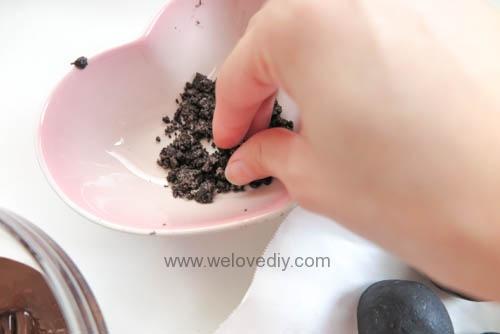 DIY OREO Truffles 情人節甜點三個材料做奧利奧餅乾松露巧克力 (16)