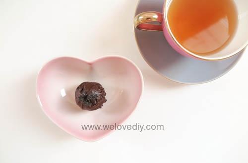 DIY OREO Truffles 情人節甜點三個材料做奧利奧餅乾松露巧克力 (20)