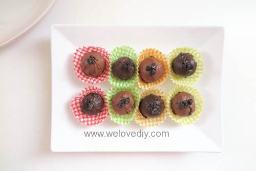 DIY OREO Truffles 情人節甜點三個材料做奧利奧餅乾松露巧克力 (22)