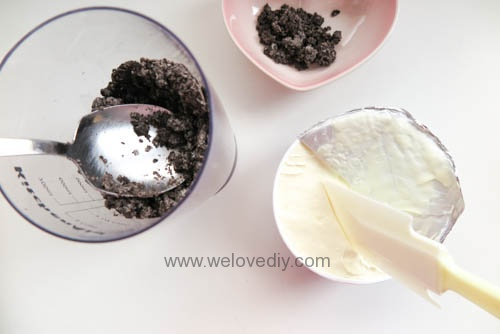 DIY OREO Truffles 情人節甜點三個材料做奧利奧餅乾松露巧克力 (6)