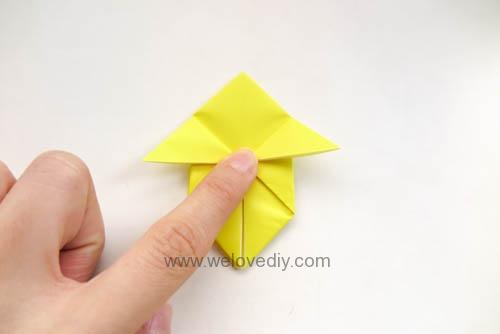 DIY Pokemon Go 精靈寶可夢神奇寶貝立體皮卡丘摺紙教學 (10)