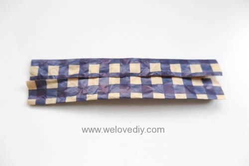 MIDORI Origami 父親節玩色紙手作立體領結摺紙 (13)