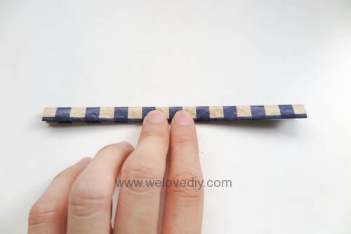 MIDORI Origami 父親節玩色紙手作立體領結摺紙 (14)