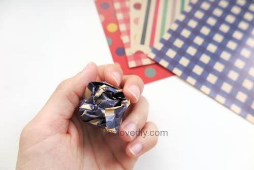 MIDORI Origami 父親節玩色紙手作立體領結摺紙 (7)