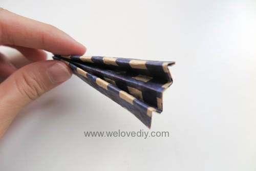 MIDORI Origami 父親節玩色紙手作立體領結摺紙 (9)