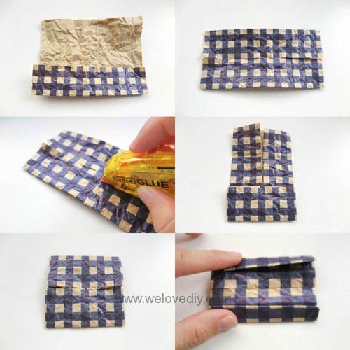 MIDORI Origami 父親節玩色紙手作立體領結摺紙