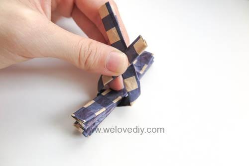 MIDORI Origami 父親節玩色紙立體領結摺紙手作 (1)