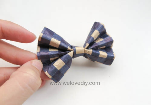 MIDORI Origami 父親節玩色紙立體領結摺紙手作 (4)