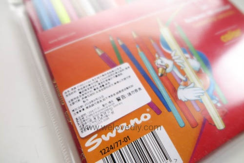 STABILO 德國天鵝牌 Color系列 六角形色鉛筆 膠盒組 24色 開箱介紹 (2)