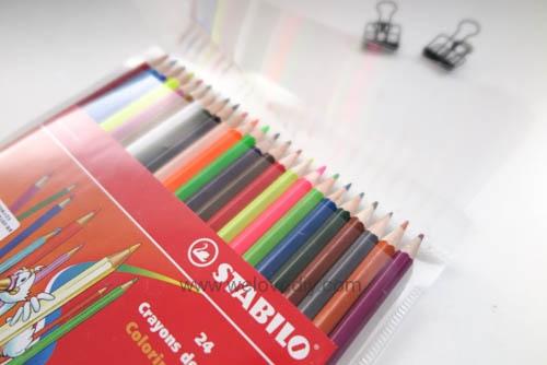 STABILO 德國天鵝牌 Color系列 六角形色鉛筆 膠盒組 24色 開箱介紹 (3)