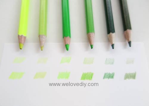 STABILO 德國天鵝牌 Color系列 六角形色鉛筆 膠盒組 24色 開箱介紹 (5)